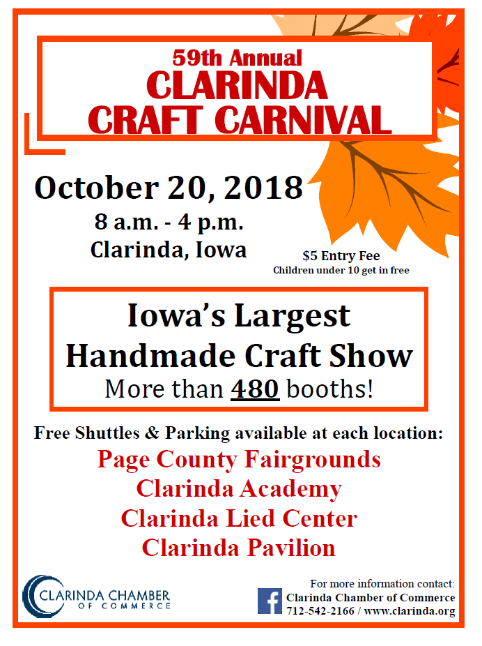 Craft Carnival Website