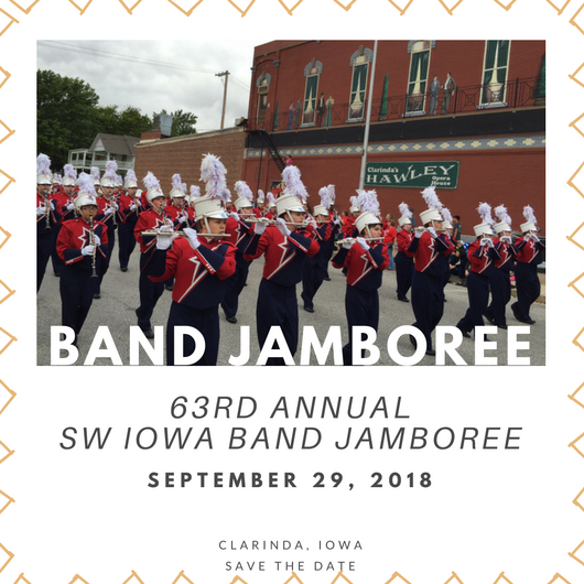 Band Jamboree Save the Date